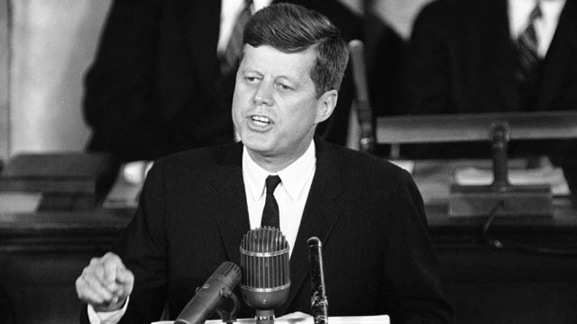 Fifty years ago on May 25 1961 President John F Kennedy gave a historic speech before a joint session of Congress that set the United States on a